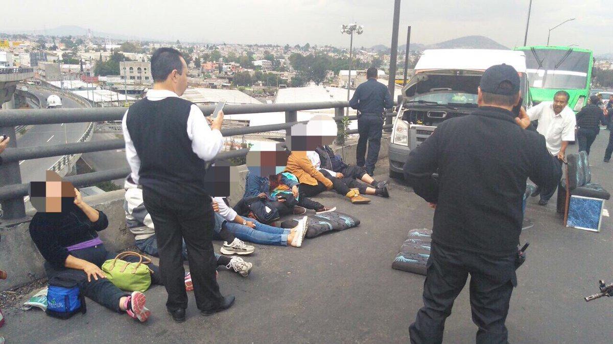 Choque en la México-Puebla (2)