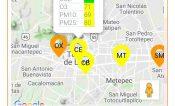 Mejora calidad del aire en Toluca, pero continúa regular