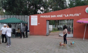 Denuncia Ayuntamiento de Metepec bloqueo para entrar al parque La Pila