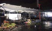 Consume incendio más 20 puestos en Central de Abasto de Ixtapaluca