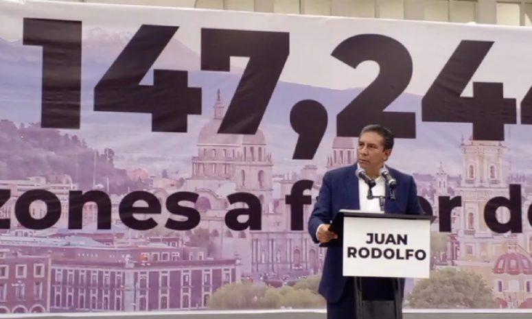 Reconoce Juan Rodolfo derrota en la elección y agradece votos a favor
