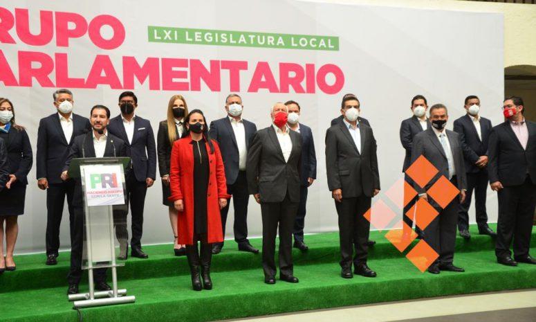 Nombra PRI Edomex a sus coordinadores parlamentarios